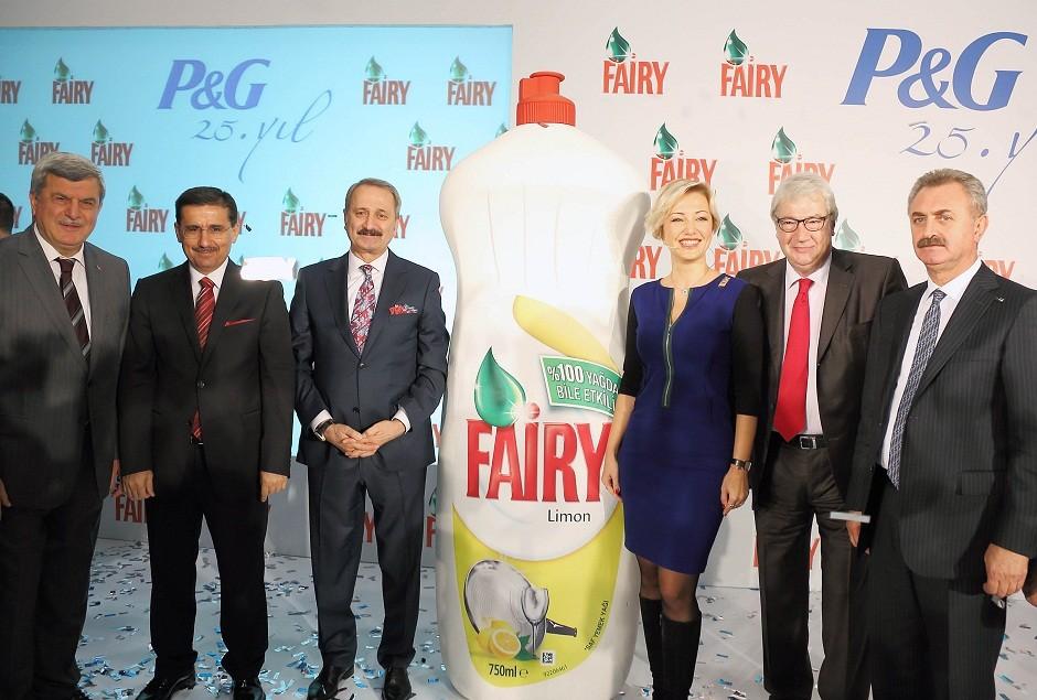 Fairy bulaşık deterjanı artık Türkiye'de üretiliyor