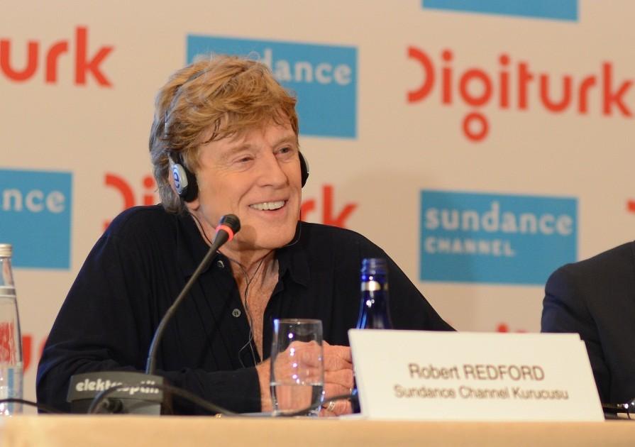 Robert Redford, Digiturk ve Sundance Channel için Türkiye'de