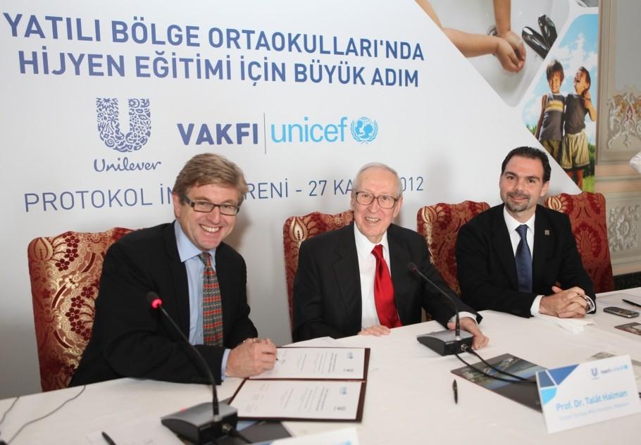 Unilever Vakfı ve UNICEF'ten hijyen eğitimi