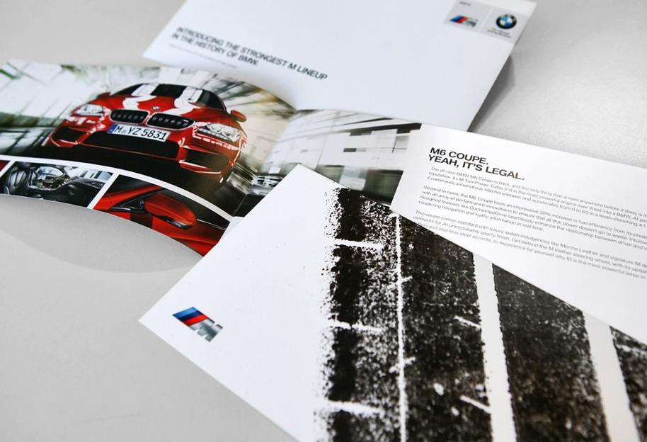 BMW M6'nın baskıdaki izleri