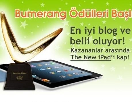 2. bumerang blog ödüllerine geri sayım başlıyor