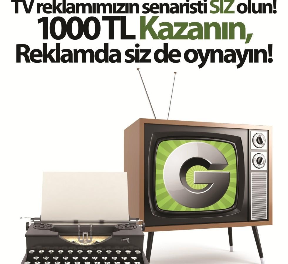 groupon TV reklamının senaristini arıyor