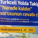 turkcell yolda takip