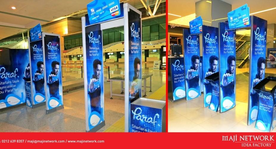 Paraf Card, Maji Network ile Security Gate'lerde