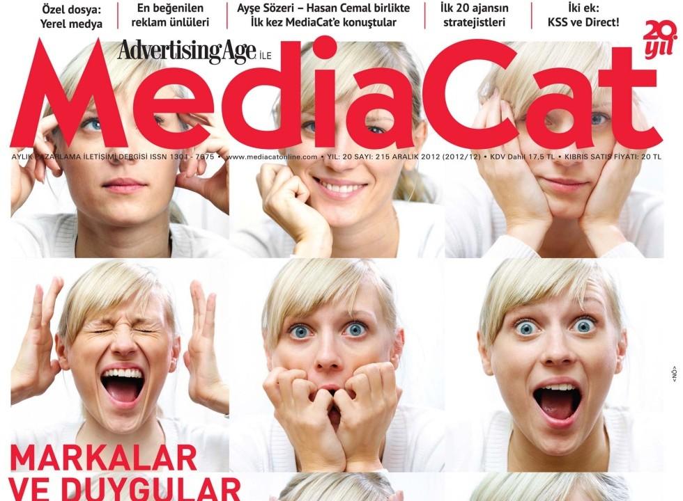 mediaCat Aralık'ta: Markalar ve duygular