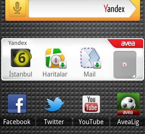 Yandex mobildeki ilk anlaşmasını Avea ile yaptı