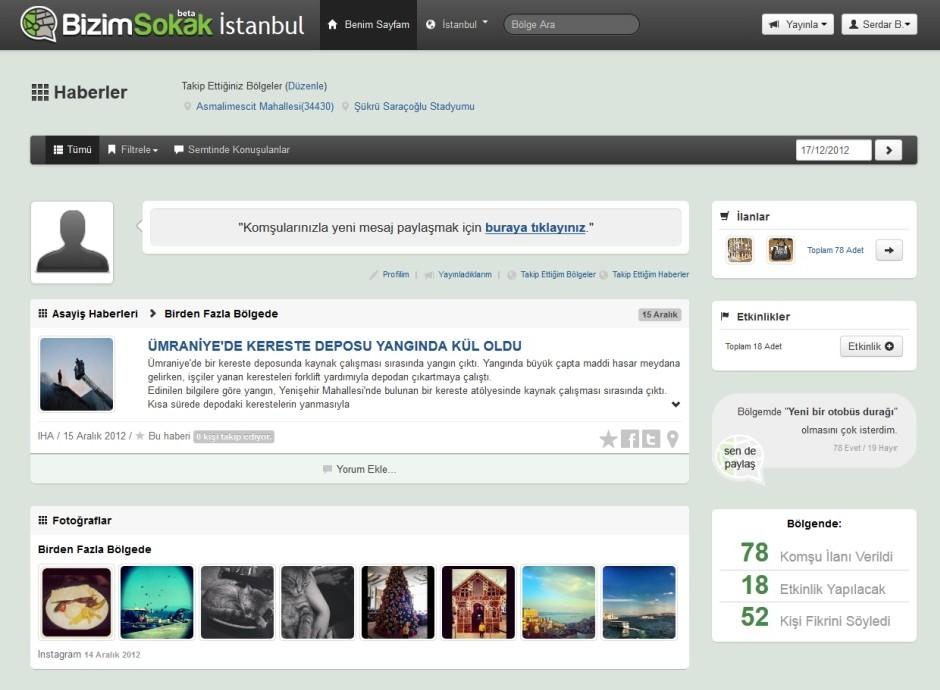 Türkiye'nin ilk bölgesel sosyal paylaşım ağı