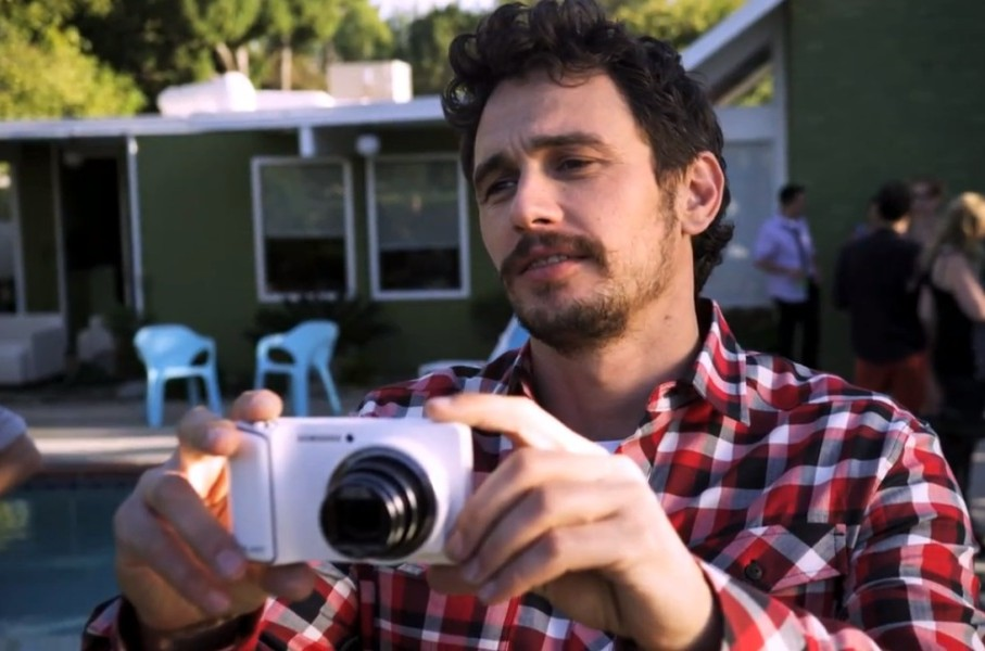 James Franco Samsung'un yeni viral filminde