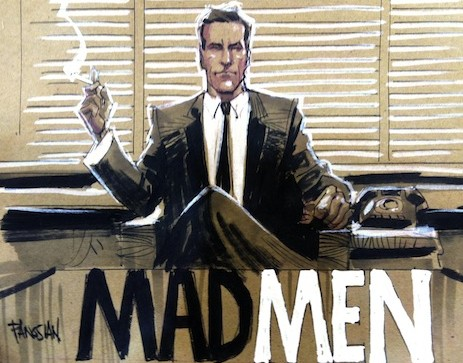 mad men çizgi roman don