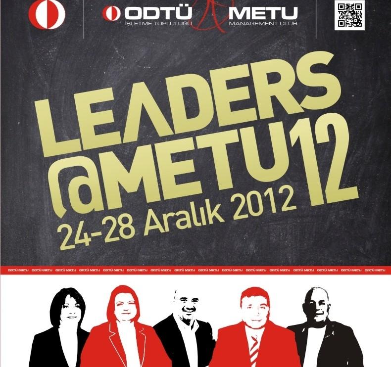 Üst düzey yöneticilerden Leaders@METU ziyareti