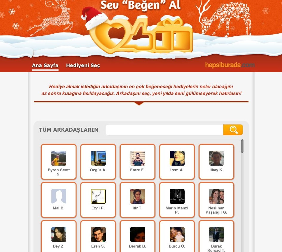 hepsiburada.com sosyal medya kampanyası