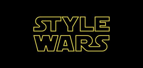 Moda �konlar�na Star Wars Dokunu�u