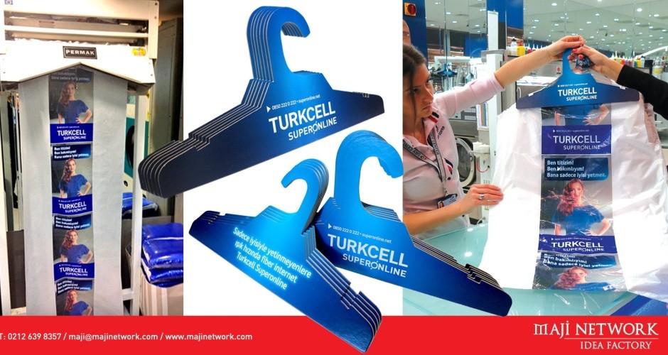 Turkcell Superonline çevre dostu askılarla evlerde