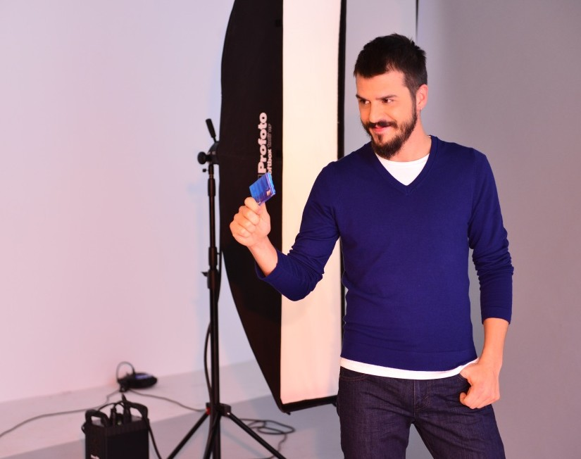 Mehmet Günsür, First sakız reklamında