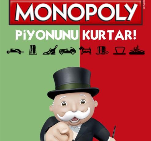 Monopoly piyonlarından biri oyundan çıkıyor