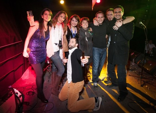 Yarışmanın Birincisi  İPSOS - Better Bros Company Band - 2012