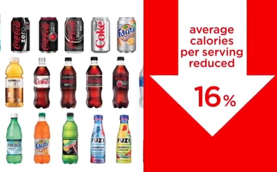 Coca-Cola'dan obeziteye karşı kampanya