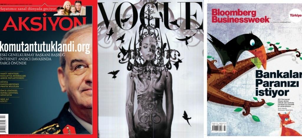 2012'nin en iyi dergi kapağı Aksiyon'dan
