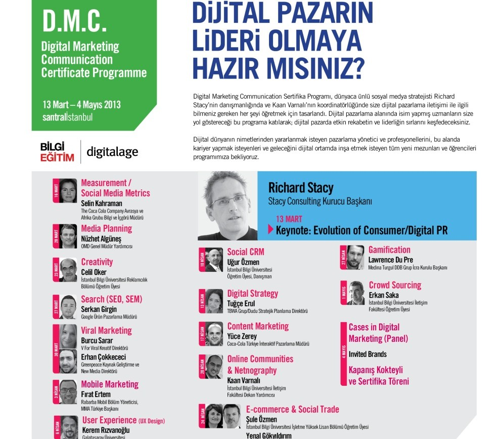 Dijital Pazarlama İletişimi Sertifika Programı