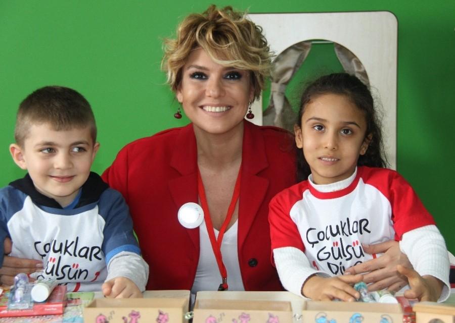 Çocuklar Gülsün Diye 12'nci okulunu açtı