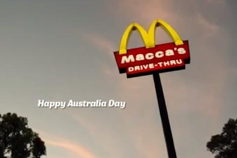 Avustralya'daki McDonald's isim değiştirdi