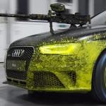 Audi'lerin paintball savaşı