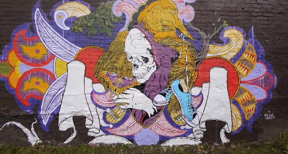 Converse sokak sanatını reklama çeviriyor