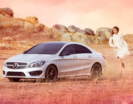 Fashion Week Istanbul'un sponsoru Mercedes