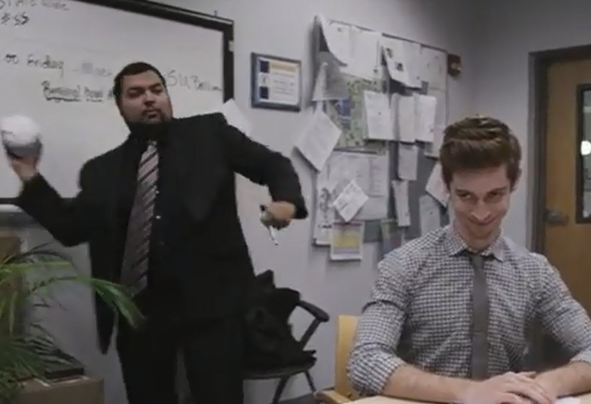 'The Office' izleyenleri bu reklama bayılacak!
