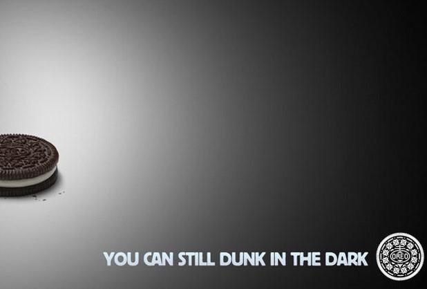 Super Bowl'daki elektrik kesintisini fırsat bilen Oreo oldu