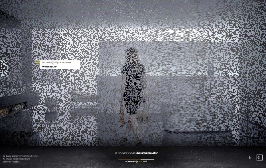 Serra'nın yeni reklam filminde duvarı ilk yıkan tweetler oldu