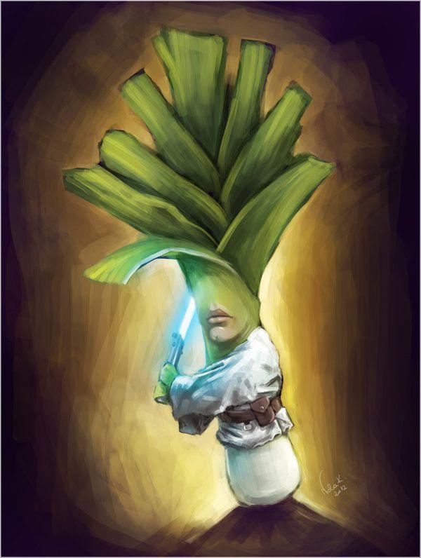 Star Wars karakterleri meyveye dönüşürse