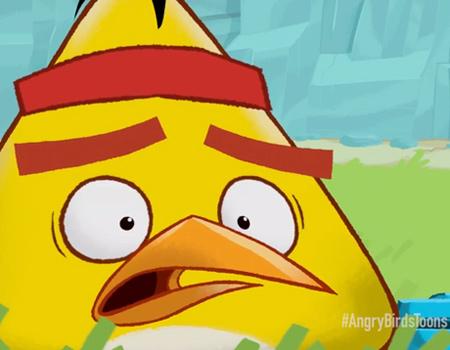 Angry Birds çizgi filmi bu hafta yayında