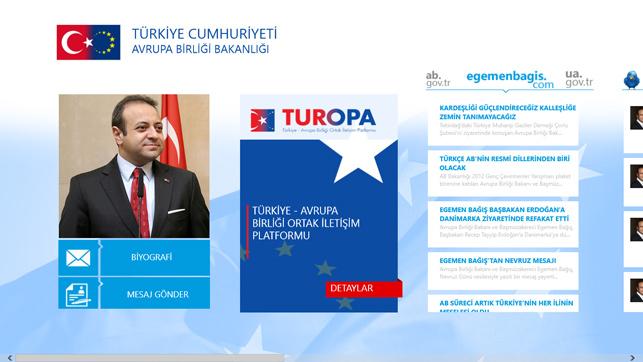 AB Bakanlığı ve Microsoft'tan sosyal platform: TUROPA