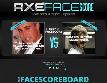 Axe'ın yeni oyunuyla yüzlerinizi oylayın
