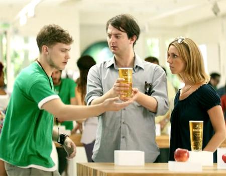 Elma suyu markasının hedefi Apple