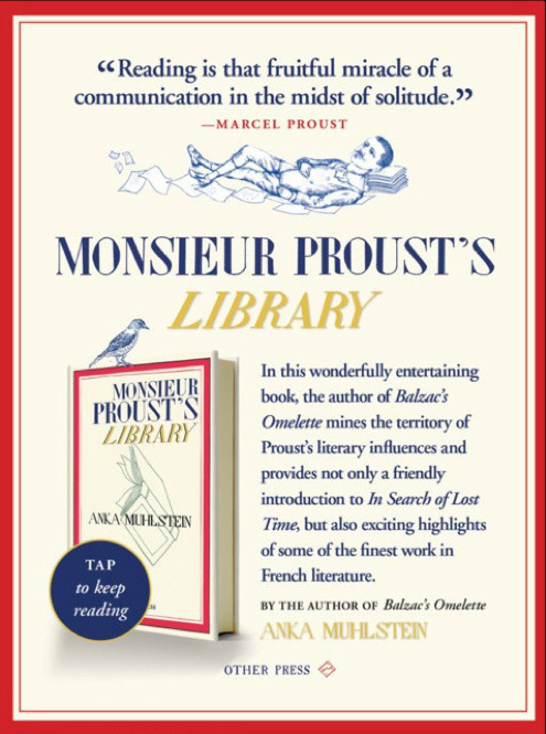 Monsieur Proust's Library