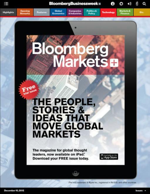 Bloomberg Markets+iPad App