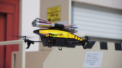 Fransız Le Poste gazetelerini insansız hava araçları ile dağıtacak - Nisan 1