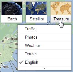 Google Maps üzerinde define avı