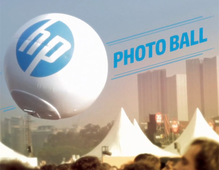 HP ile 'Photoball' deneyimi