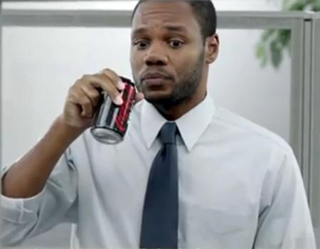 İşyerinde Coca-Cola Zero içince…