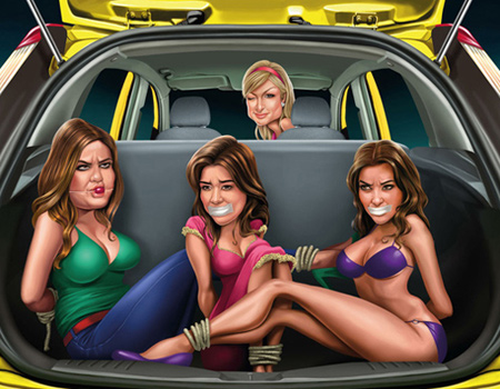 Kardashian kardeşler Ford'a dava açıyor