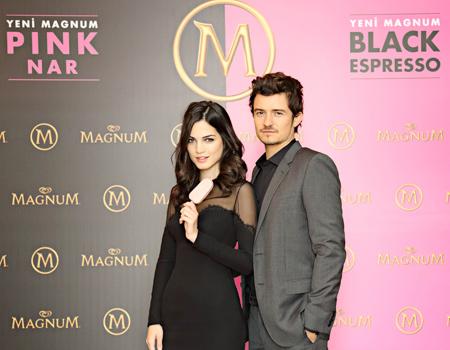 Magnum'un kampanyasında Orlando Bloom'a İtalyan model eşlik edecek