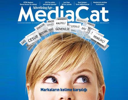 MediaCat Mart 2013 sayısı bayilerde!