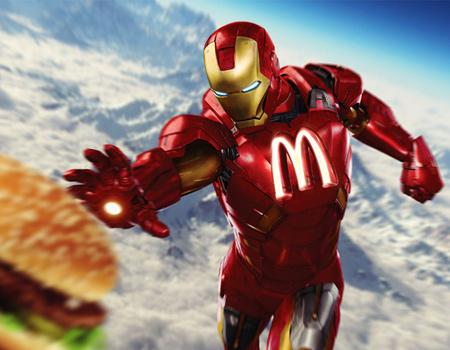 Süper kahramanlar sponsorlu olsaydı...