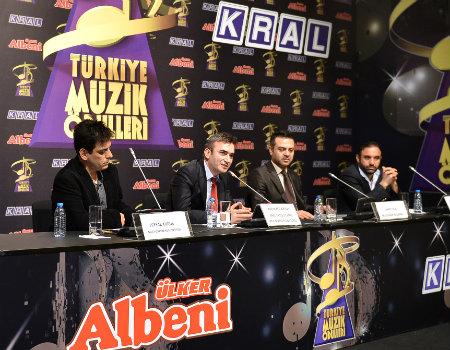 Türkiye Müzik Ödülleri adayları açıklandı