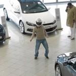 İzleyeceğiniz Volkswagen reklamı Harlem Shake içerir