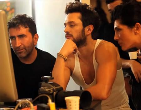 Murat Boz'un yer aldığı Yedigün reklamının kamera arkası