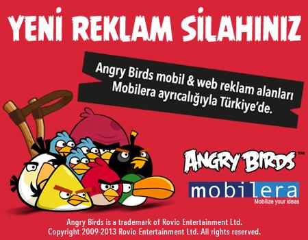 Türk reklamverenlere yeni seçenek: Angry Birds